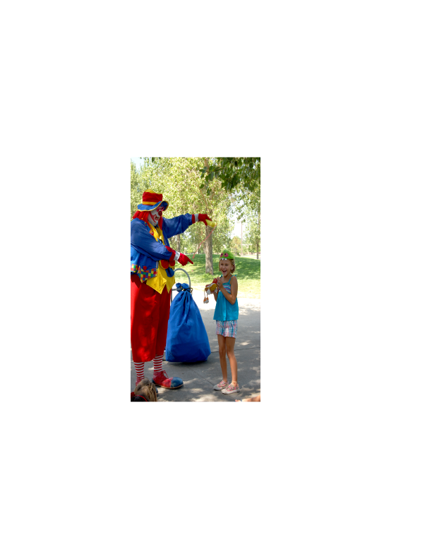 COCONUT the Clown www.CoconutTheClown.com a great addition to any fun event